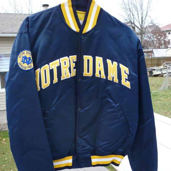 Vintage Notre Dame Fighting Irish Varsity Jacket